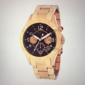 Marc by Marc Jacobs watch rose gold